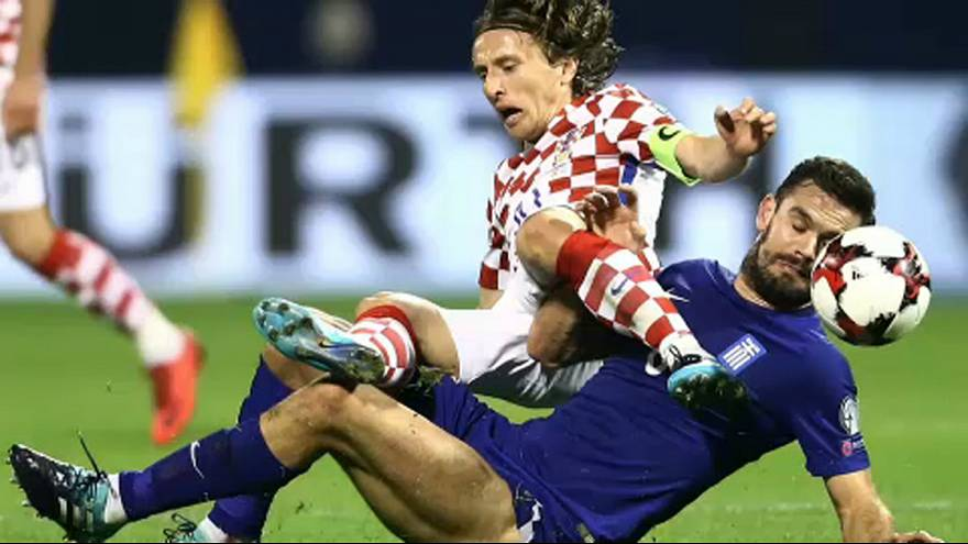 First blood to Croatia and Swiss in World Cup qualifying playoffs