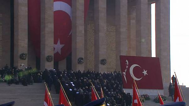 Atatürk 79. ölüm yıldönümünde Anıtkabir'de anıldı
