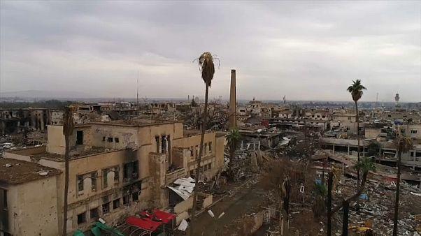 Neue Drohnenbilder aus Mossul: So verwüstet ist die Stadt
