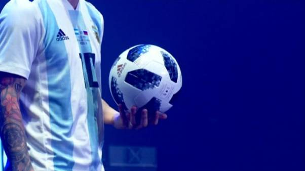 High-tech ball launched for 2018 World Cup