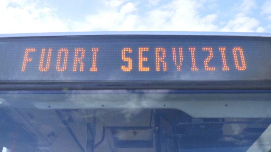 Nagy sztrájk bénította Olaszországot