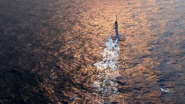 Weltrekordversuch: Im Trimaran um die Welt