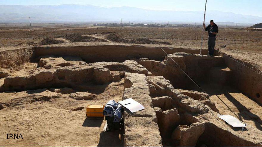 یک کاخ دوره هخامنشی در خراسان کشف شد