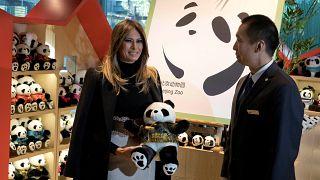 """Panda""-Diplomatie mit Melania Trump"