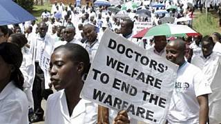 Human rights body backs striking Ugandan doctors accused of illegality