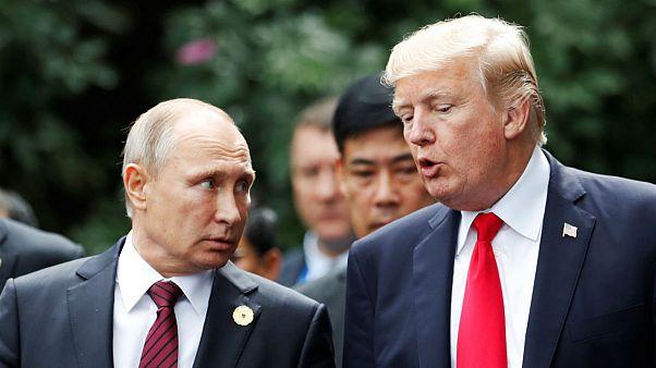 بیانیه مشترک ترامپ و پوتین: بحران سوریه راه حل نظامی ندارد