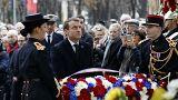 Macron I. Dünya Savaşı'nın bitişinin anma törenlerine katılıyor