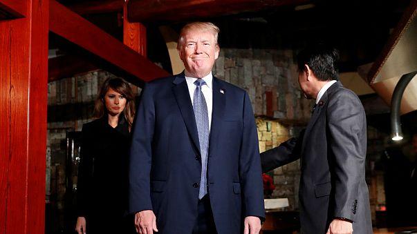 Bloss kein roher Fisch - Was isst Donald Trump in Asien?