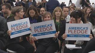 COP 23'te Donald Trump protesto edildi