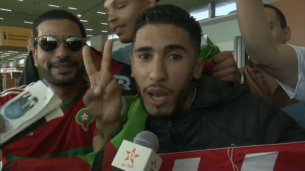 تفريق مشجعين مغاربة بالغاز المسيل للدموع في أبيدجان