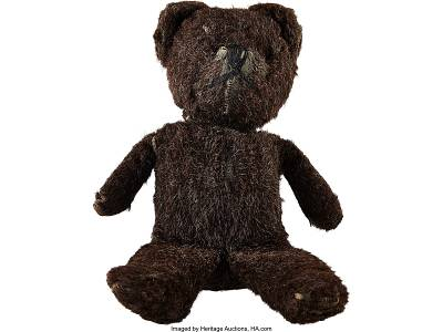 Neil Armstrong\'s childhood teddy bear.