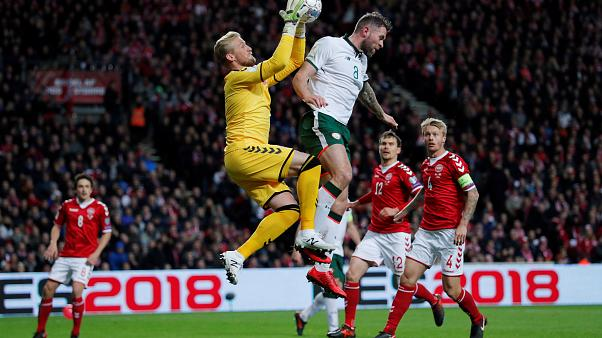 World Cup qualifiers: Republic of Ireland hold Denmark to goalless draw ahead of Dublin decider