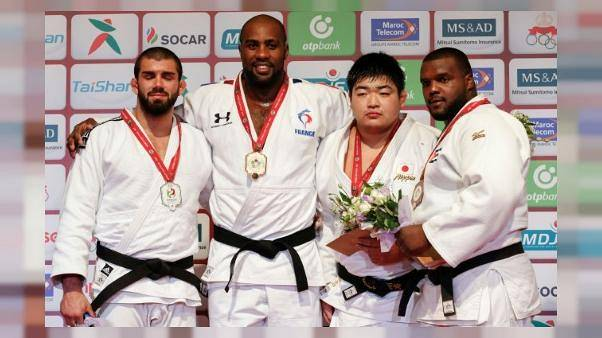 Teddy Riner claims tenth World Judo Championship gold