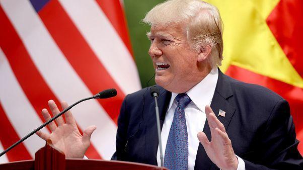 Donald Trump vor dem Ende seiner Asienreise
