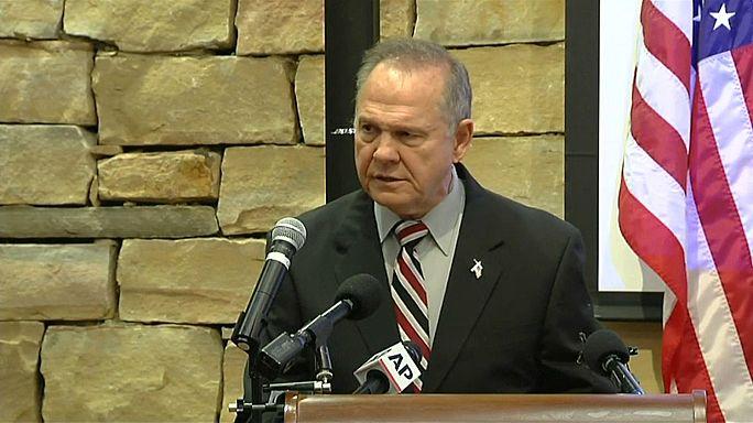 Senador americano Roy Moore rejeita acusações de assédio sexual