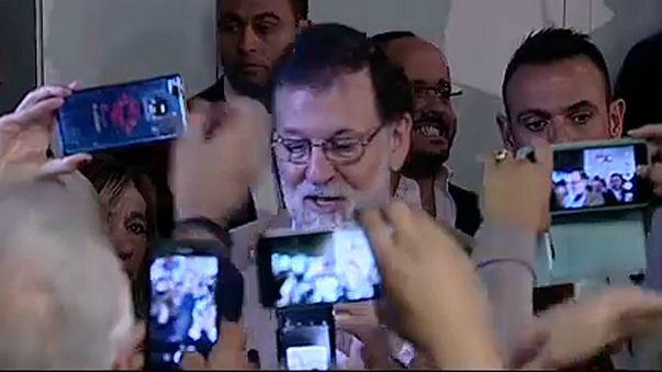 Mariano Rajoy Barcelonában