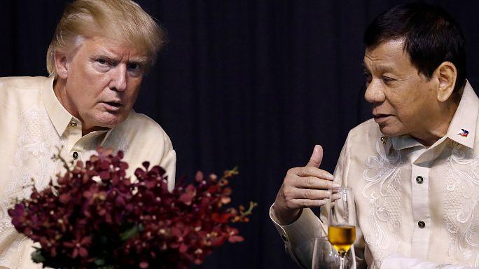 Trump estreia-se na cimeira da Asean