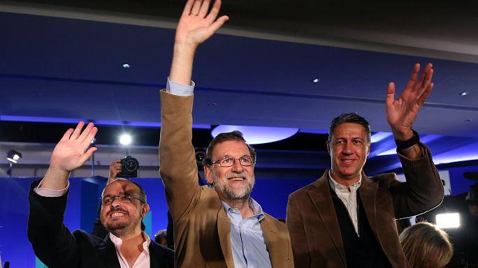Mariano Rajoy in Barcelona - Der Wahlkampf beginnt