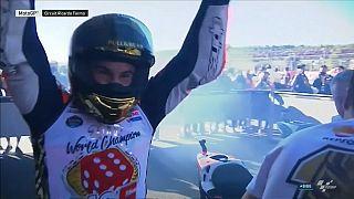 Marquez magic ensures 4th Moto GP title