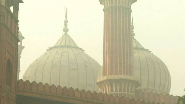 Air pollution levels in India's capital hit record high