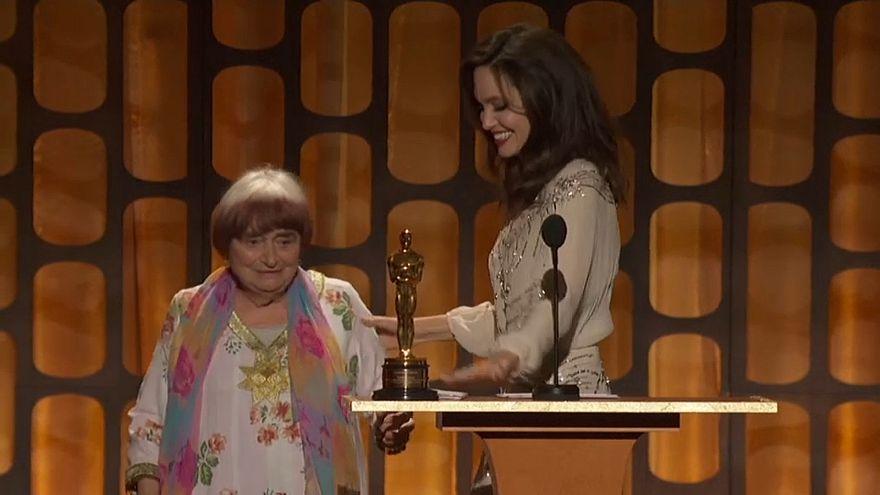Életműdíjat kapott Agnes Varda