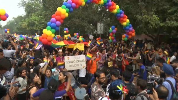 Гей-парад в Нью-Дели