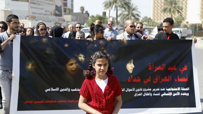 Kilenc éves kortól adhatnak férjhez lányokat Irakban, ha elfogadják a törvénytervezetet