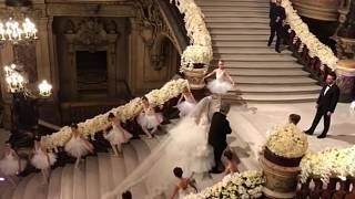 حفل زفاف أسطوري في باريس لحفيدة نائب أسبق للرئيس حافظ الأسد