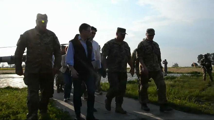 Конфликт в Донбассе обсуждают в Белграде