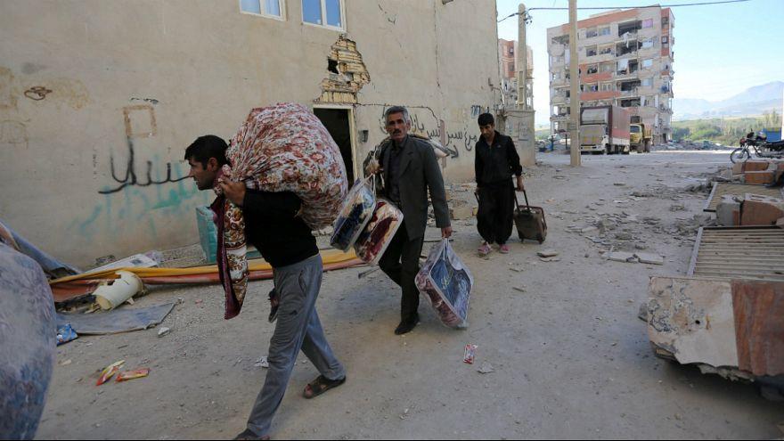 زلزله ایران و عراق به روایت تصویر