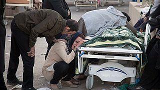 Az első felvételek a több száz halálos áldozatot követelő földrengésről Irán és Irak határán