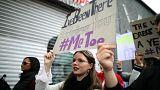 راهپیمایی علیه آزار جنسی در قلب هالیوود؛ زنان و مردانی که سکوت نمیکنند