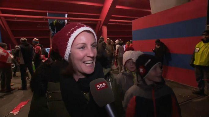 La joie des Suisses qualifiés pour le Mondial
