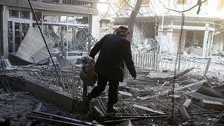 عفو بینالملل: سیاست «تسلیم یا مرگ از گرسنگی» دولت سوریه جنایت علیه بشریت است