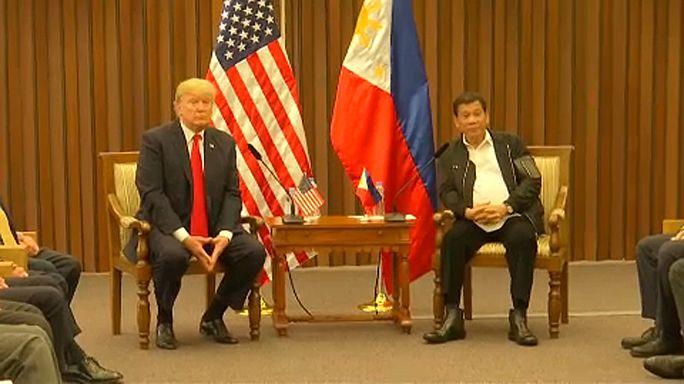 """Trump:""""ottimi rapporti"""" con Duterte"""