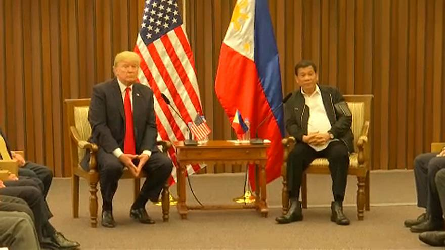 Duterte sings Trump's praises: and the feeling is mutual
