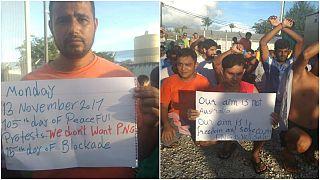Papua Nova Guiné resolve à força problema de refugiados