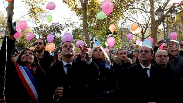 French President commemorates terror attacks two years on