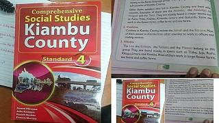 Kenyans online slam primary school textbook for being 'ethnic biased'