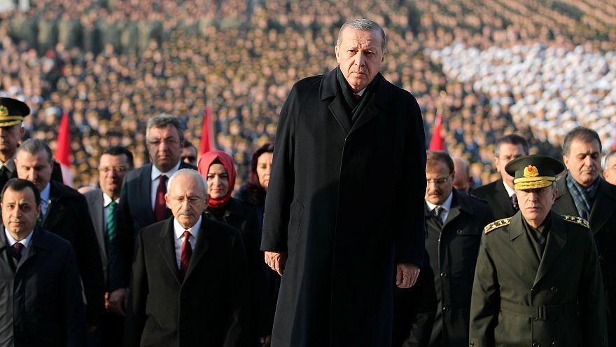"""أردوغان: """"من يرفض الحل العسكري في سوريا فليسحب قواته"""""""