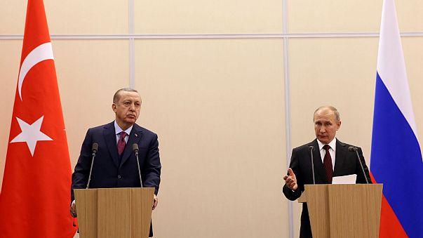 Putyin és Erdogan hamar rendezte nézeteltérését