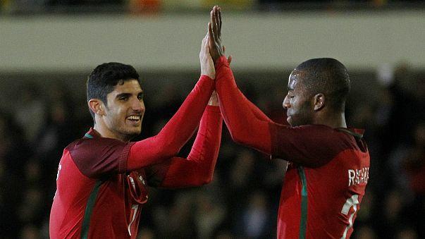 Portugal e Brasil jogam de olhos postos na Rússia