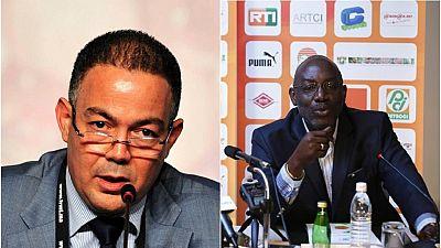 Mondial 2018/Qualifs : vive dispute samedi entre les présidents des fédérations ivoirienne et marocaine de football