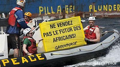 Congo : Greenpeace regrette que son bateau ne puisse accoster à Pointe-Noire