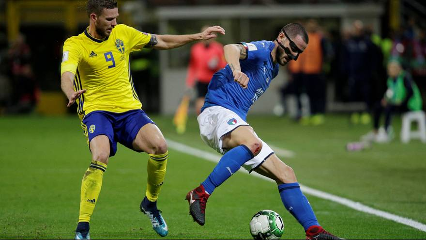 ایتالیا غایب بزرگ جام جهانی، سوئد مسافر روسیه شد