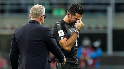 Football - Italie : Buffon, les tristes adieux d'un monstre sacré