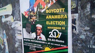 Biafra agitation: IPOB calls for boycott of gubernatorial polls