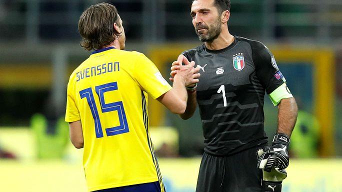 ¡Italia fuera del Mundial!