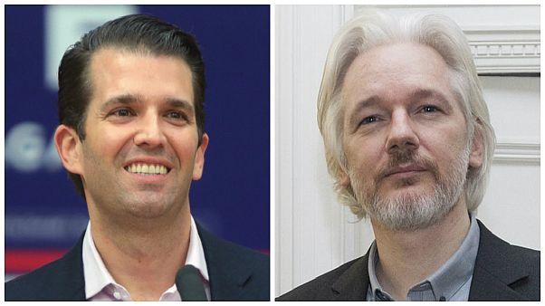 Russiagate: Trumps Sohn Donald Jr. hatte im Wahlkampf Kontakte zu WikiLeaks