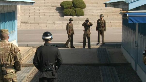 Corea del Sur recibe a un soldado desertor norcoreano tiroteado